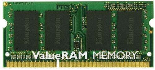 Kingston Technology ValueRAM 2GB 1333MHz DDR3 Non-ECC CL9 SODIMM Kingston C Notebook & Portable Memory 2 (PC3 10600) KVR1333D3S8S9/2GKC