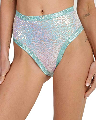 iHeartRaves J. Valentine High Waisted Booty Shorts - Cute Styles for Women