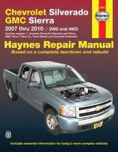Haynes 24067 Chevy Silverado   Gmc Sierra Repair Manual  2007 2014