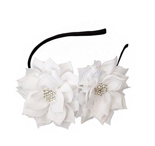 (Fascinator Headband Hair Clip Lotus Flower Bridal Headpieces Wedding Party Cocktail Headwear)