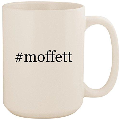 #moffett - White Hashtag 15oz Ceramic Coffee Mug Cup ()