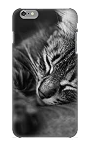 Exultantor High Quality Shock Absorbing Case For Iphone 6 Plus-animal Cat