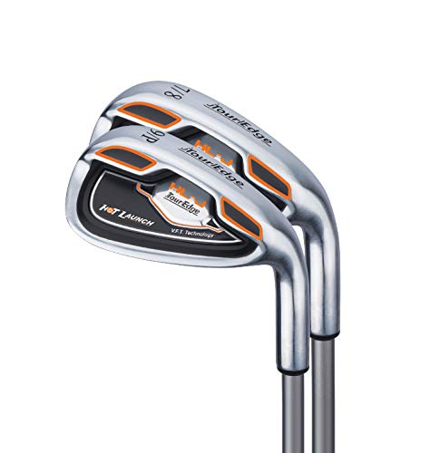 Tour Edge HL-J Junior Complete Golf Set with Bag (Right Hand, Graphite, 1 Putter, 2 Irons, 1 Hybrid, 1 Wood, 5-8 YRS) Orange by Tour Edge (Image #5)