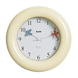 Michael Graves Kitchen Wall Clock Color: Ivory