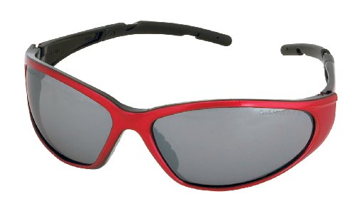 Champion Shooting Glasses with Closed Ballistic Frame -Gray Lens (Red ()