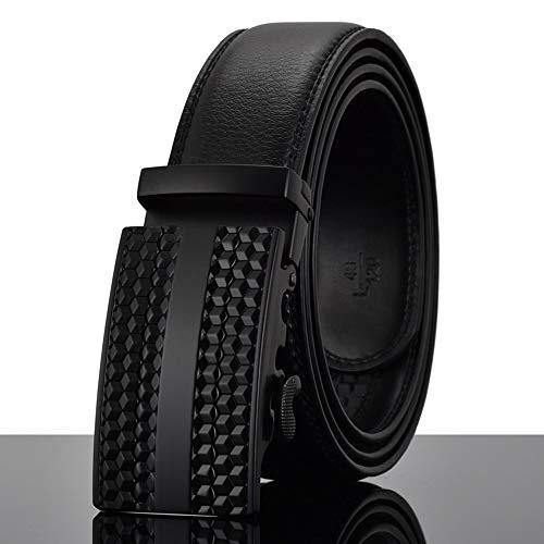 cm per 115 pelle automatica uomo 120 Cintura fibbia con cm maschile lega in in Xq7BO