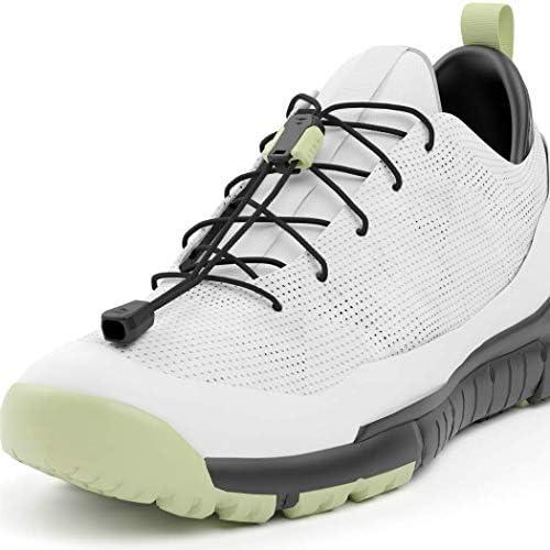 結ばないゆるまない靴ひも SPLC 丈夫で伸びないひも すばやくロック&解除