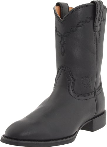 Ariat Men's Heritage Roper Boot,Black,10.5 EE US