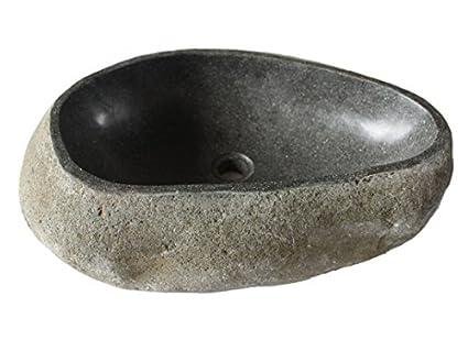 Eden Bath EB_S019GN-P Natural Galet Nobu Boulder Stone Sink ...