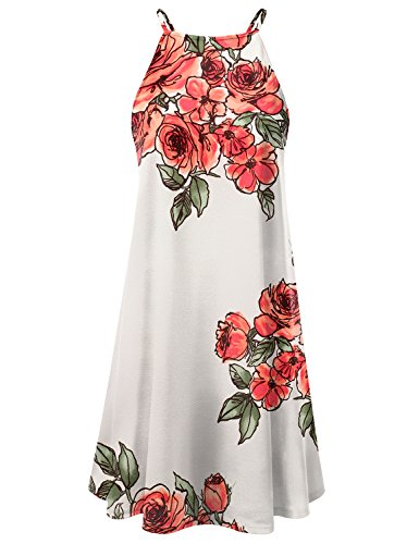Red Square Neck Dress - 9
