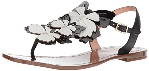 Kate Spade New York Women's Celo Sandal, Black Nappa, 10 Medium US by Kate Spade New York