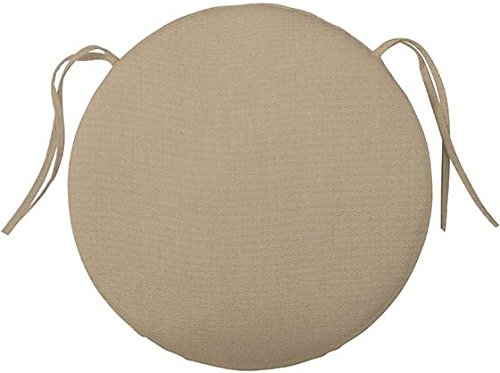Bullnose Round Outdoor Chair Cushion, 2