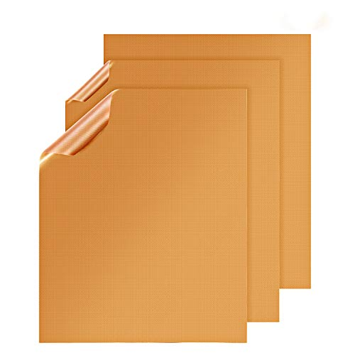 X-Chef Copper Sheets for Grilling, BBQ, Baking or Cooking, Copper Mats Set of 3, Heavy Duty and ()