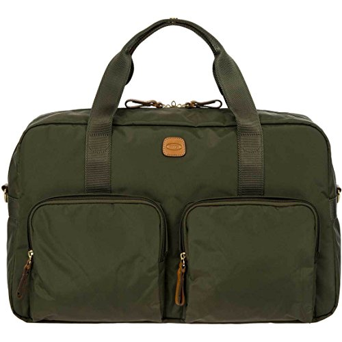 Bric's X x-Travel 2.0 18 Inch Cargo Overnight Boarding Duffle with Pockets Duffel Bag, Olive, One Size Review