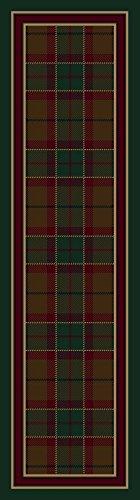 Signature Magee Tartan Emerald Rug Rug Size: 2'1
