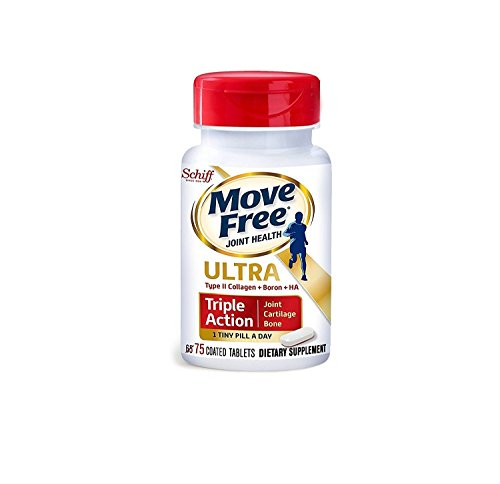 Joint Formula Powder -  Schiff Move Free Ultra 75 Coated Tablets - pack of 2