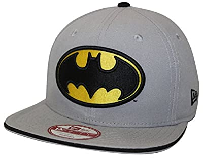 New Era 9Fifty Hero Sandwich Batman Gray Snapback