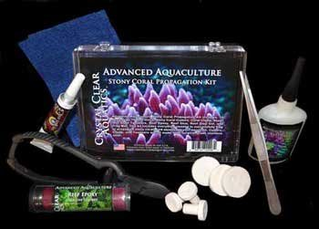 Crystal Clear Aquatics AAD00298 Stony Coral Propagation Kit by Crystal Clear Aquatics