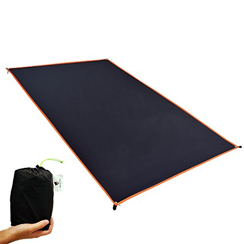 Saver Floor Tent (Geertop 2-Person Ultralight Waterproof Tent Tarp Footprint Ground Sheet Mat Camping, Hiking, Picnic (4 Sizes))