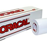 "24"" x 10 Ft Roll of Oracal Vinyl for Craft Cutters and Vinyl Sign Cutters (White, 100 Feet)"