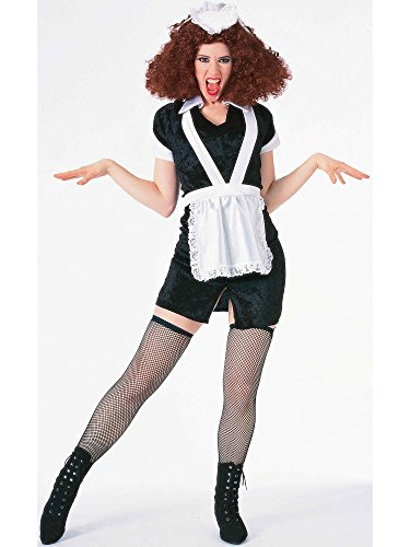 Forum The Rocky Horror Picture Show Magenta Complete Costume, Black/ White, Standard Size