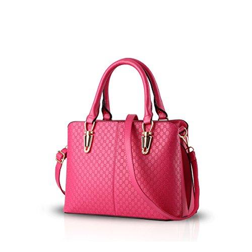 à main Nicole à à casual sac Yellow les tendance femmes mode féminin Messenger pour grand sac sac sacs amp;Doris Rose la de main sac rétro bandoulière rrO6Caf