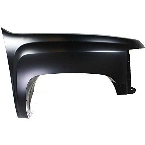 Fender for 2007-2013 Chevrolet Silverado 1500 Front Right Primed Steel ()
