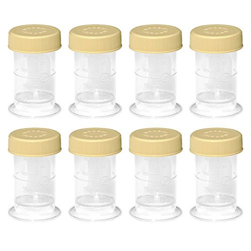 lection Container Breastmilk Storage Bottle 35ml BPA Free with Solid Lids 8 Bottle (Medela Collection Container)