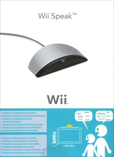 Official Wii Speak Microphone Wii Animal