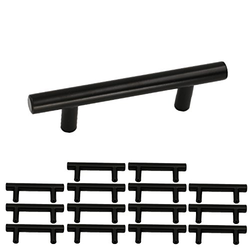 black drawer pulls 3 inch - 6