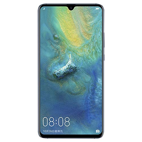 Huawei Mate 20 X EVR-L29 Dual Sim 128GB/6GB (Midnight Blue) - Factory Unlocked - GSM ONLY, NO CDMA - No Warranty in The USA ()