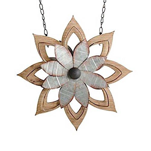 11.5 Inch Metal & Brown Wood Flower Arrow Replacement