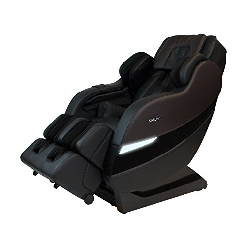 - Top Performance Kahuna Superior Massage Chair with SL-Track 6 Rollers - SM-7300 (Dark Brown/Black)