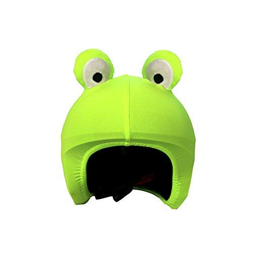 Cool Casc Animals-Frog protège Casque Jeunesse Unisexe, Vert, Taille Unique