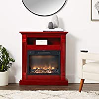 Cambridge Sienna Fireplace Mantel with E...