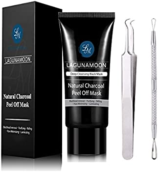 Purifying Charcoal Peel Off Mask with Blackhead Remover Tool Kit