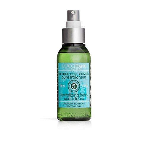 (L'Occitane Silicone-free Aromachologie Revitalizing Fresh Scalp Tonic With 5 Essential Oils, 3.4 Fl. oz.)
