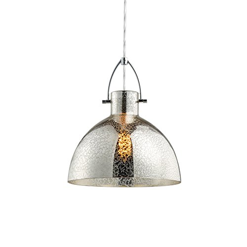 Large Glass Pendant Light Shade - 7