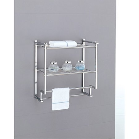 Neu Home Metro 2-Tier Wall Mounting Rack With Towel (Neu Home Wall)