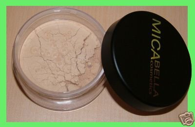 9gr Light (Micabella Natural 9gr Mineral Makeup Foundation #2 Sundstone - Light Skin +Blush Wild Rose by micabella cosmetic by micabella cosmetic)