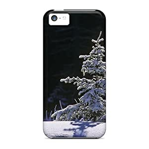 Leftover Christmas Trees Cases Compatible With Iphone 5c/ Hot Protection Cases