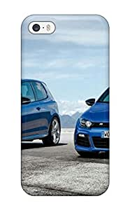 Tpu Case Cover For Iphone 5/5s Strong Protect Case Volkswagen Scirocco 29 Design