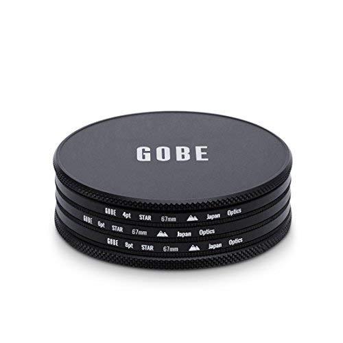 Gobe Star Filter Kit 67mm: 4 Points, 6 Points, 8 Points