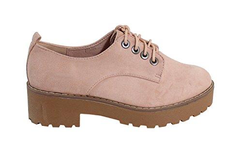 By Shoes Zapatos de Cordones Para Mujer efEWqT