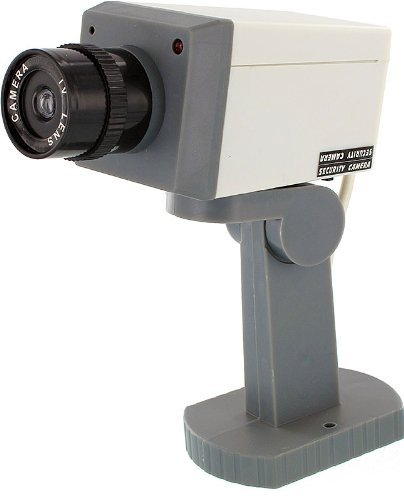 Battery Operated Security Camera >> Fake Security Camera With Motion Detector - Buy Online in ...