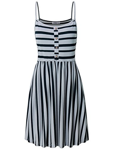 MOQIVGI Pleated Dress,Juniors Boutique Clothing Stylish Soft Lightweight Breathable Cool Comfy Lounge Long Strappy Cami Womens Party Evening Graceful Semi Formal Dresses Grey Black XX-Large