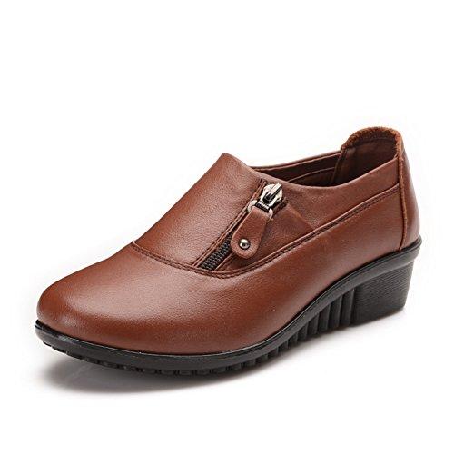 Madre zapatos fondo suave en primavera/Ocio zapatos de mujer de mediana edad grande/escoge los zapatos B