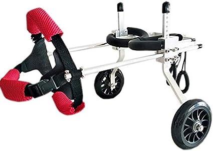 MJY Perro alimentos para mascotas para perros Cama Pet Shop ajustable silla de ruedas/minusválidos Asistida pie/pierna trasera del asiento del coche de deportes de coches para mascotas (Tamaño: X
