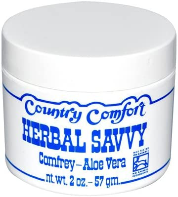 Country Comfort Herbal Savvy Comfrey Aloe Vera, 2 Ounce