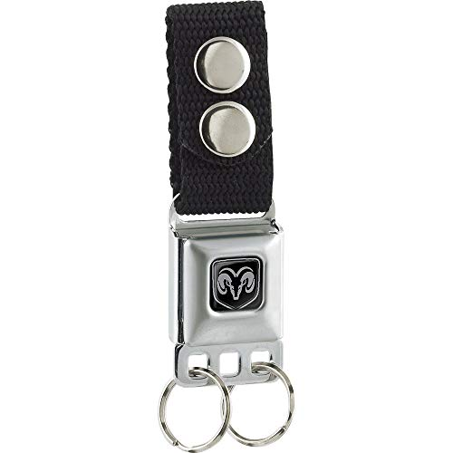 Buckle-Down Unisex-Adult's Keychain-Ram, Multicolor, One